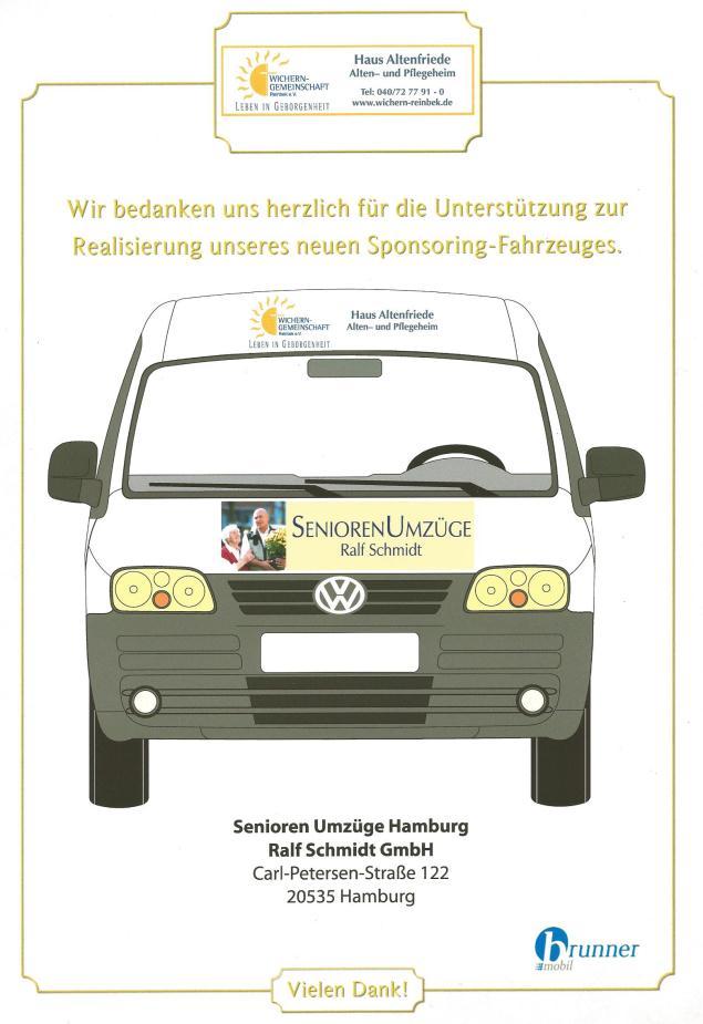 Wir engagieren uns für soziale Einrichtungen in und um Hamburg